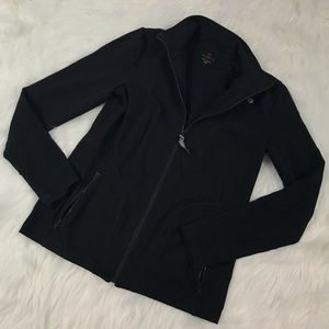Talbots Womens Size XS Black Stretchy Jacket